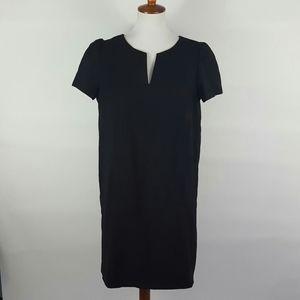 Zara Women L Black Short Sleeve Shift Dress